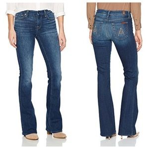 "7 For All Mankind ""A Pocket"" Flare Leg Jean"